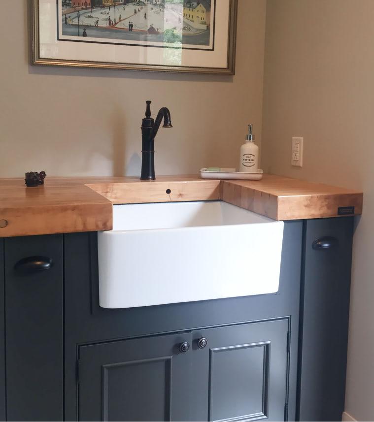 Upper 15 laundry room sink detail